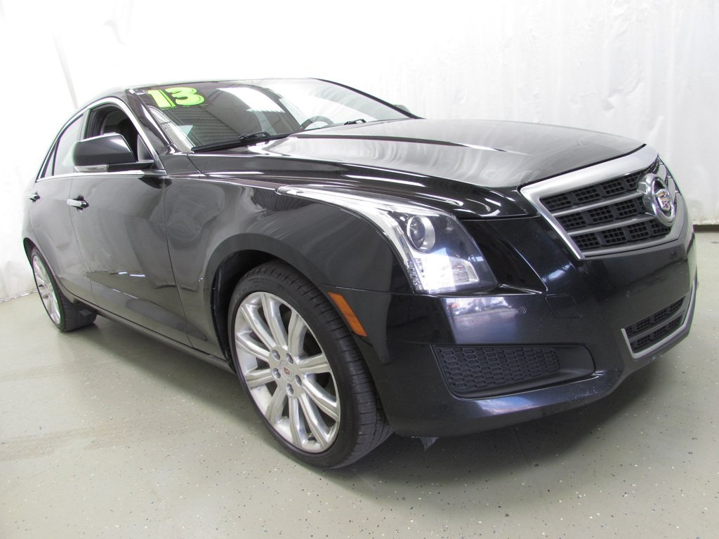 2013 Cadillac Ats 2 0 L Turbo >> Pre Owned 2013 Cadillac Ats 2 0l Turbo Luxury Awd